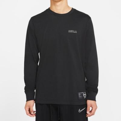 NIKE 上衣 長袖上衣 運動 慢跑 健身 男款 黑 CV2080010