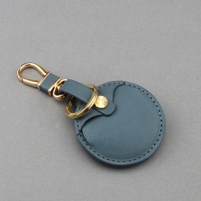 J II -gogoro鑰匙皮套-全套灰藍色-OMC