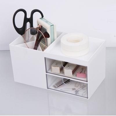 E.City_北歐風抽屜式化妝品桌面小物收納盒