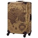 日本WORLD TRUNK 7500-60-25吋 PC+ABS鋁框輕量行李箱 璀璨世界