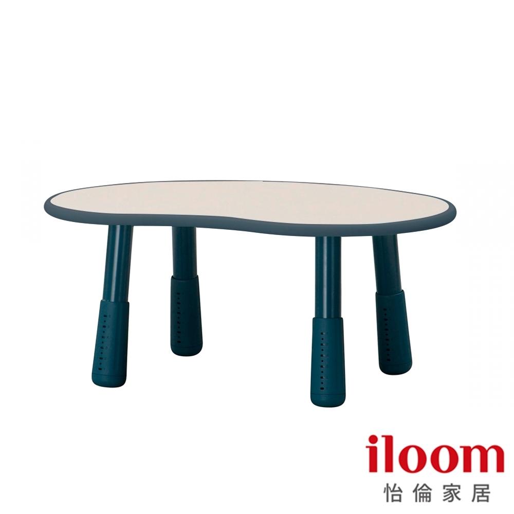 9折【iloom怡倫】Tinkle-Pop 幼兒800型增高式成長豌豆桌(海洋藍)