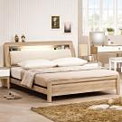 H&D 金美5.4尺床頭式床台
