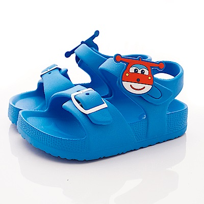 SUPER WINGS 捷特超輕量涼鞋款 EI3846藍(中小童段)