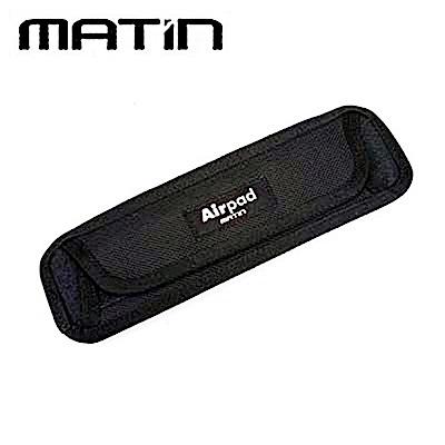 韓國製造Matin馬田減壓背帶肩墊 背帶氣墊 揹帶減壓肩墊M-6487(直條型)