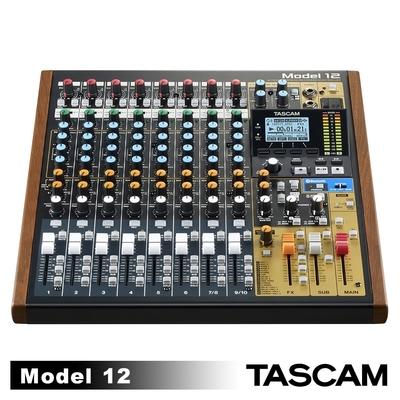 TASCAM Model 12 多軌道藍牙混音器 USB音頻接口 (公司貨)