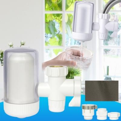 雙出水陶瓷濾芯濾水器一個