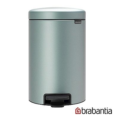 Brabantia NEWICON環保垃圾桶-12L金屬藍