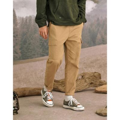 CACO-抽繩款口袋工作褲(二色)-男【A1AR047】