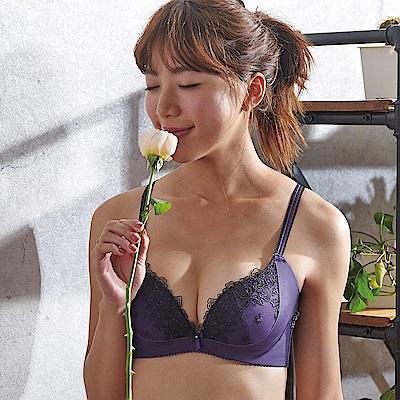 蕾黛絲-菲卡高脅邊真水內衣 D罩杯 靛紫