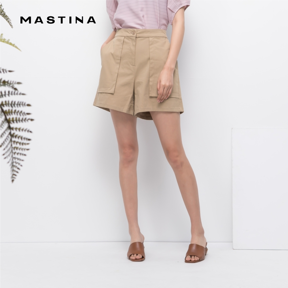 【MASTINA】個性大口袋設計-短褲(二色)