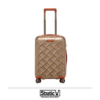 德國 Stratic 雙齒防盜防爆拉鍊登機箱 19吋 香檳色