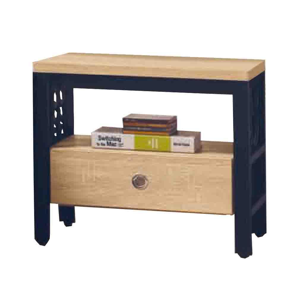 柏蒂家居-肖恩工業風1.9尺單抽床頭櫃/收納置物櫃-56x40x49cm