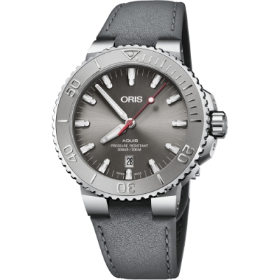 ORIS 豪利時 Aquis Relief 日期潛水機械錶-43.5mm