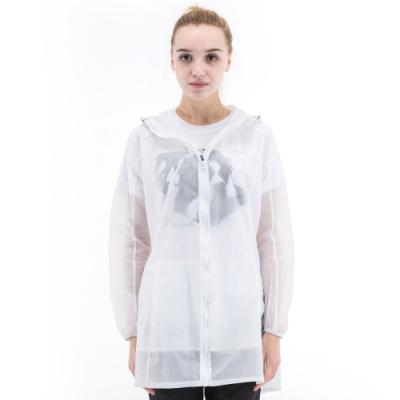 【St. Bonalt 聖伯納】女款單色超輕透長版防曬外套 (8031-白色) 抗UV 防曬 防風 防潑水 輕薄 透氣