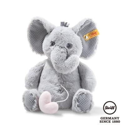 STEIFF德國金耳釦泰迪熊 Ellie elephant  柔軟大象貝鼻  (嬰幼兒音樂鈴)