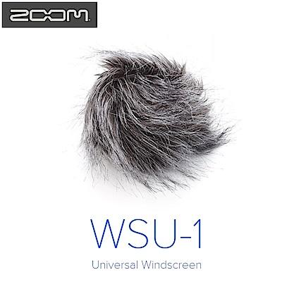 日本ZOOM麥克風防風毛罩WSU-1防風罩(兔毛,適錄音機H1 H2n H4n H6去風切聲少雜音)mic deat cat