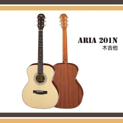 Aria 201-MTN 雲杉面單吉他
