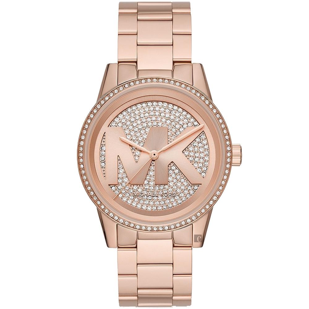 Michael Kors MK品牌晶鑽女錶-40mm  MK6863