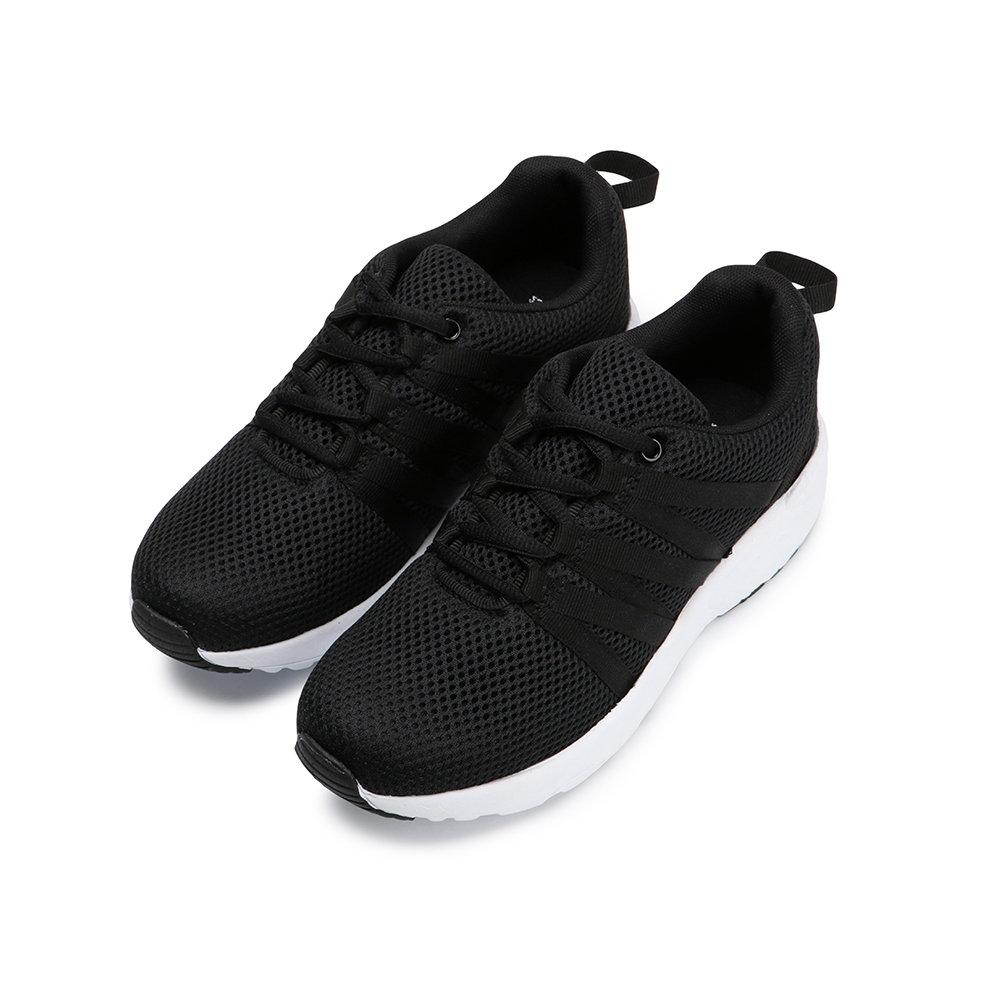 BuyGlasses 撲通地狂跳頻率慢跑鞋-黑 @ Y!購物