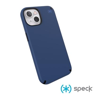 Speck iPhone 13 Presidio2 Pro柔觸感防摔殼-海藍色