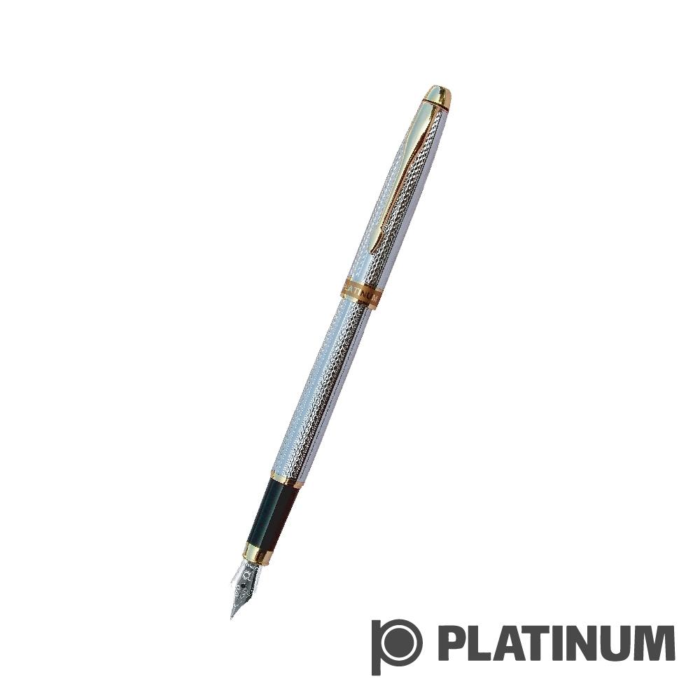 PLATINUM白金 鋼筆 |  日系 雕花鍍銀 PAG-800