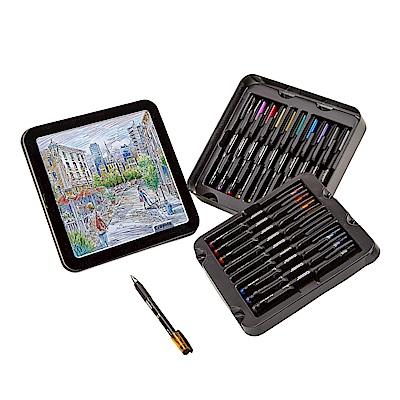 美國Crayola 繪兒樂 彩繪素描膠筆精裝組20色(9Y+)