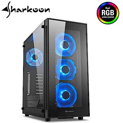 Shakoon 旋剛 TG5 RGB 炫光者 玻璃透側 電腦機殼