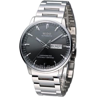 MIDO 美度錶 Commander 天文台認證機械錶(M0214311106100)40mm