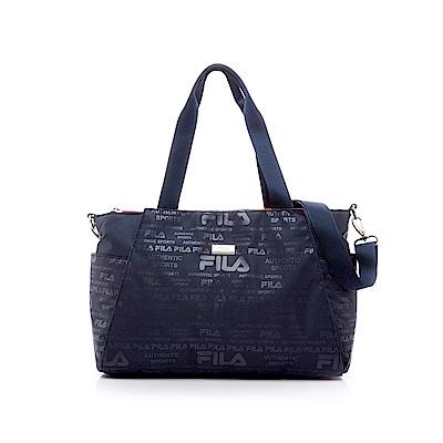 FILA中型斜肩包-深藍 BMS-5301-DB