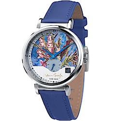 梵谷Van Gogh Swiss Watch小秒盤梵谷經典名畫女錶(C-SLLV-15)