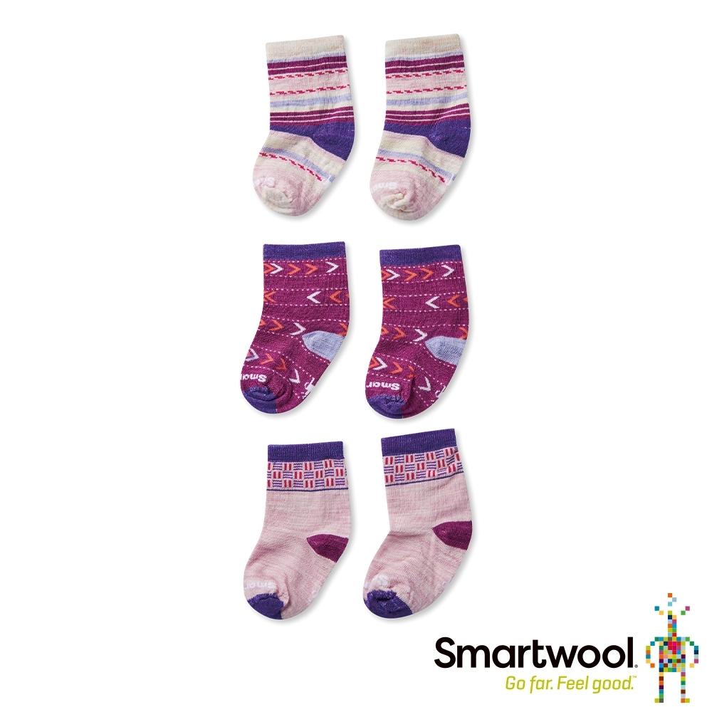 SmartWool 幼童羊毛襪組 花蜜粉