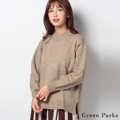 Green Parks 溫暖高領素面針織上衣