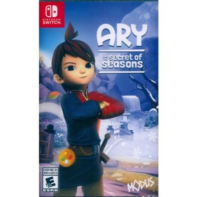 艾莉與季節的秘密 中英日文美版 Ary and the Secret of Seasons - NS Switch 中英日文美版