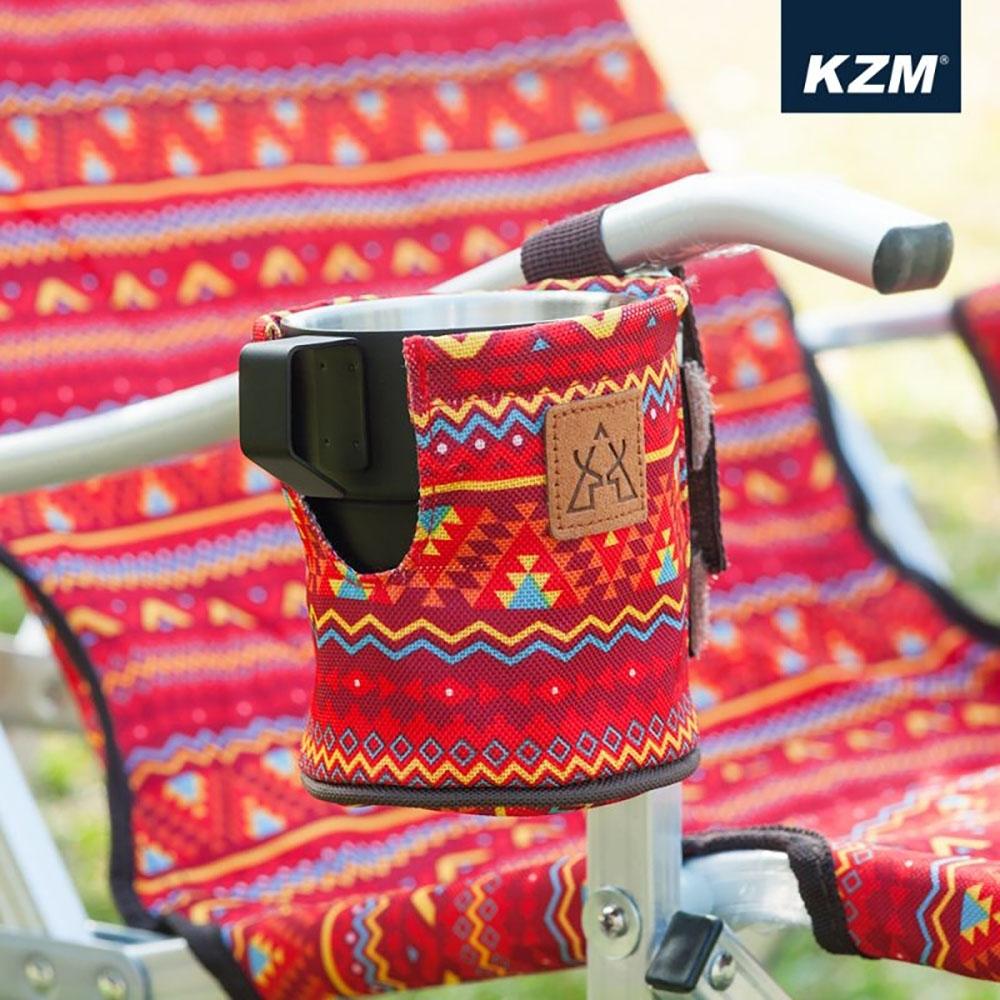 KAZMI KZM 經典民族風保溫杯套(紅色)
