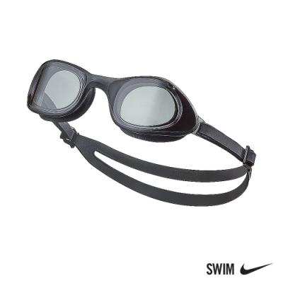 NIKE 成人 超廣角泳鏡 EXPANSE 深灰 NESSB161-014 (男女泳鏡)