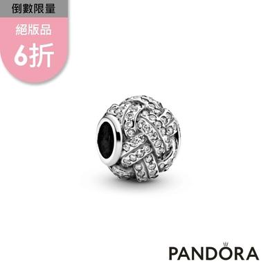 【Pandora官方直營】璀璨同心結串飾