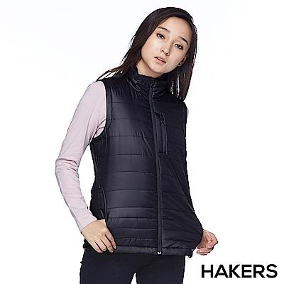 【HAKERS】女款 保暖背心(黑色)