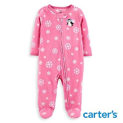 Carter's 雪花企鵝連身裝