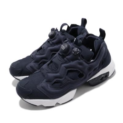 Reebok 休閒鞋 Instapump Fury 運動 男鞋 經典款 襪套 充氣科技 舒適 穿搭 藍 白 DV6986