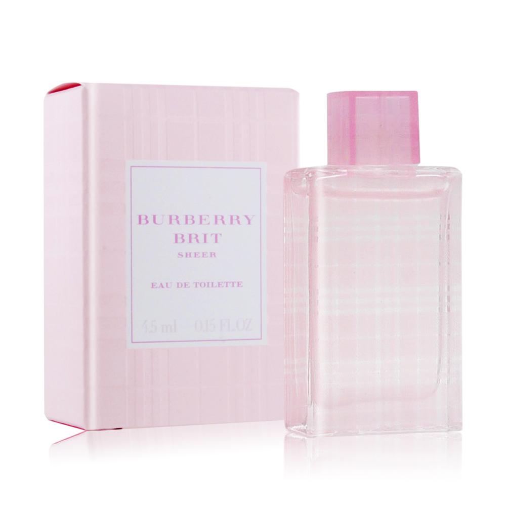 BURBERRY 粉紅風格女性淡香水4.5ml