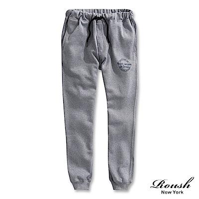 Roush TEXAS美式印花刷毛棉褲(2色)