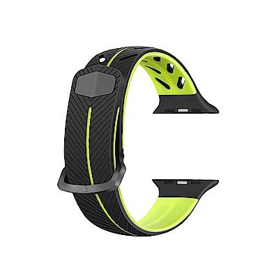 Apple Watch 38mm 雙色運動防水錶帶
