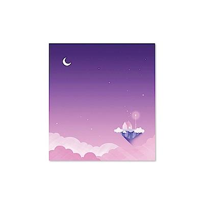 Second Mansion 夢幻月光便條紙本V2-04幻紫星月