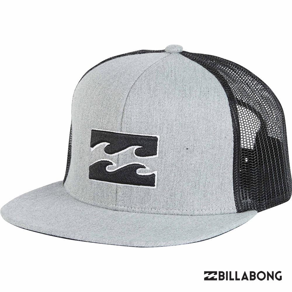 BILLABONG-ALL DAY TRUCKER棒球帽-灰黑