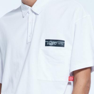 UDOU skateboard短袖T恤(白)