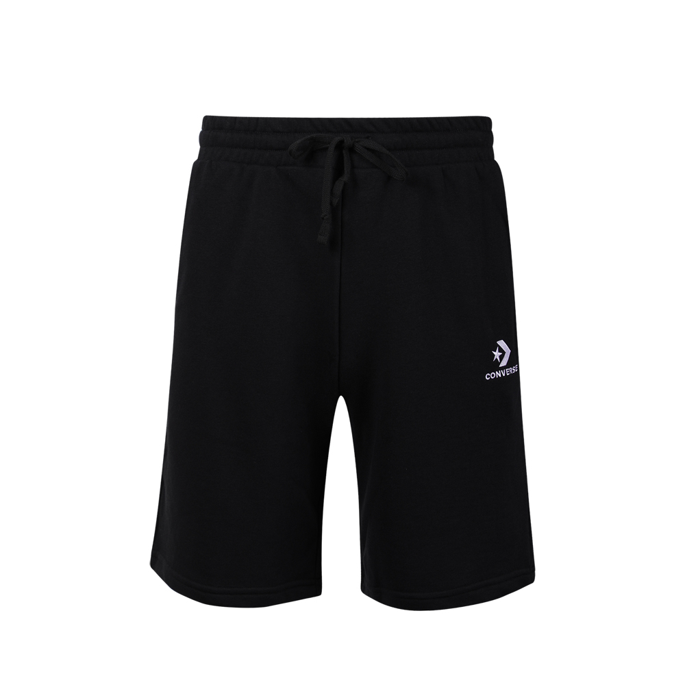 CONVERSE-男休閒短褲-黑-10008929-A01