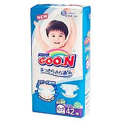 GOO.N日本大王 黏貼紙尿褲 境內版 XL 42片/包