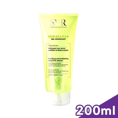 SVR 法國詩芙雅 青春控油潔膚凝膠 200ml/瓶 (正版公司貨)