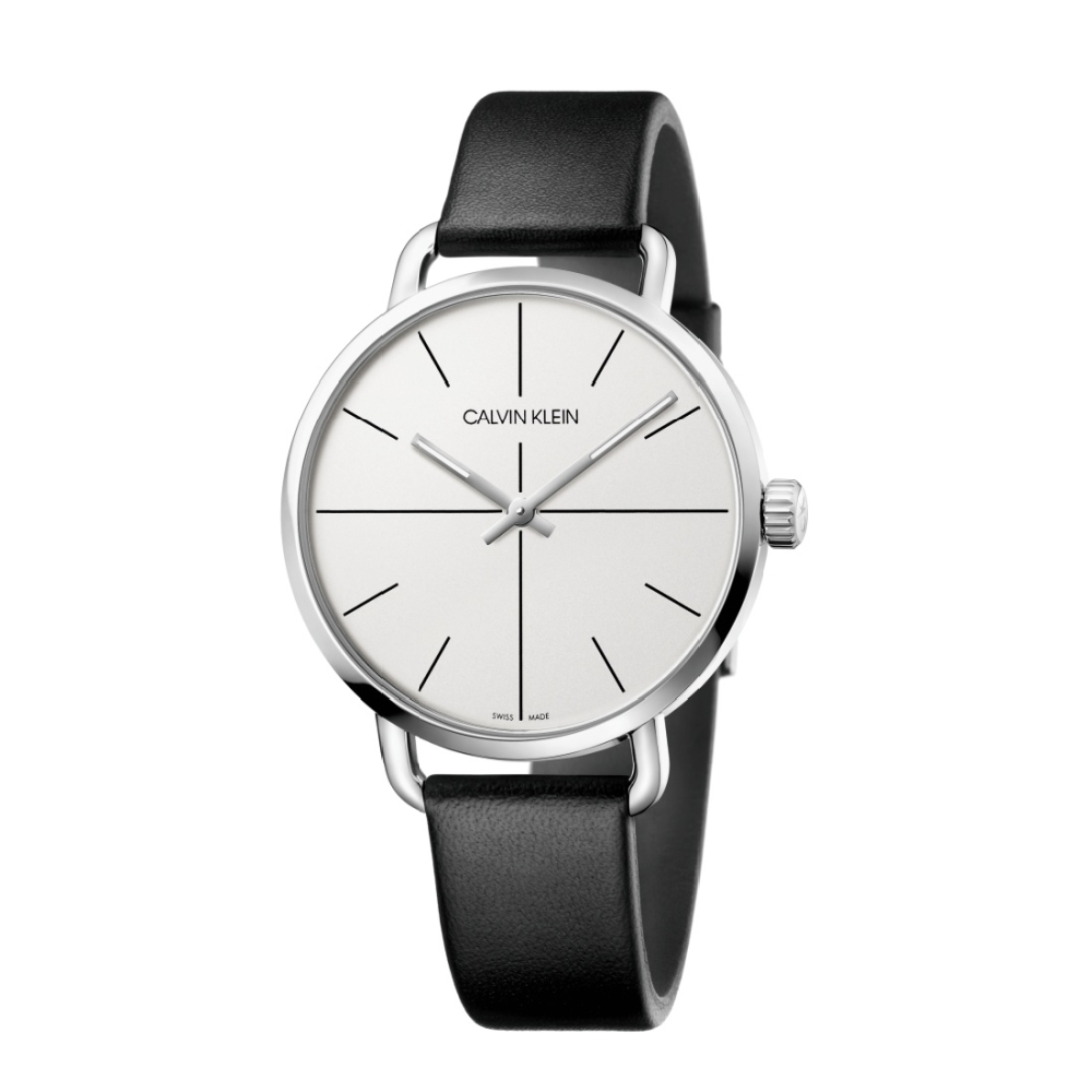 Calvin Klein CK超然系列皮帶腕錶(K7B211CY)42mm
