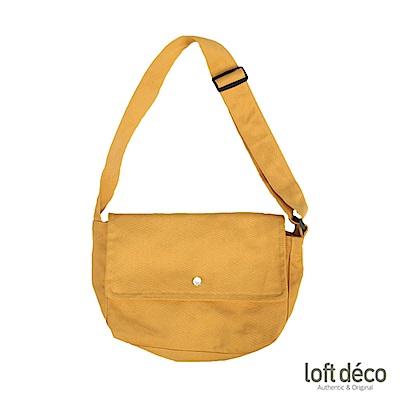 Loft Deco | Ginger | 純色報童包